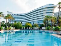 10 Nights All Inclusive Holiday To 5* Hotel In Turkey, Antalya 2 Adults 2 Children July 2018