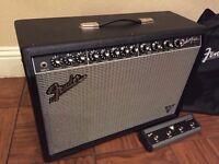Fender Deluxe Reverb VM, Mxr Micro Amp/Distortion III/108 Fuzz/ TC Elec. Flashback x4/ Bad Monkey