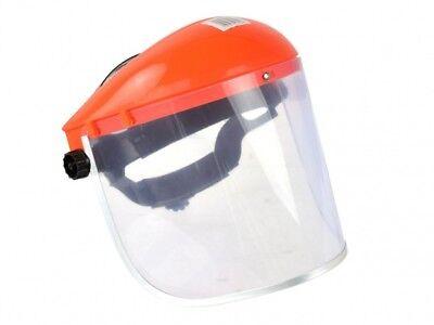CLEAR SAFETY FACE MASK SHIELD VISOR SPARKS GRINDING STRIMMER GARDEN CUTTING