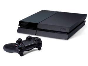 PS4 500GB + Gta V + Station de recharge + 2 manettes