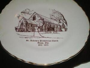 Church Collector Plates Belleville Belleville Area image 2