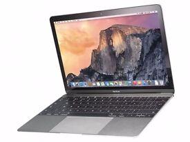 MacBook 12 Space Grey 1.2GHz 8GB RAM 512GB SSD