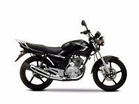 YAMAHA YBR125 MOTORBIKE