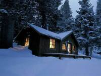 ISO winterized cottage for 2 night stay