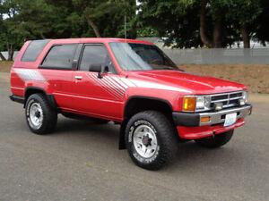 80's Toyota 4Runner/Tacoma