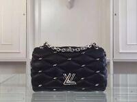 LV black studded GO-14 bag for sale