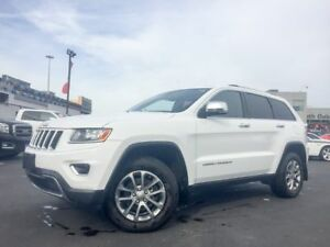 2015 Jeep Grand Cherokee Limited | BLUETOOTH | HEATED LEATHER |