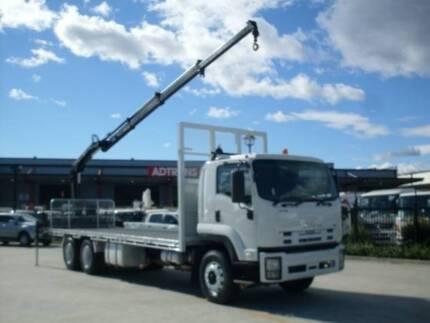 Isuzu FVZ FVZ1400 7.9 M TABLE TOP CRANE Crane Truck