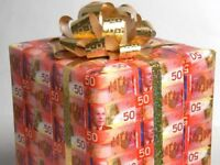 Christmas $$$/Cash Paid Daily