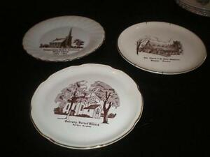Church Collector Plates