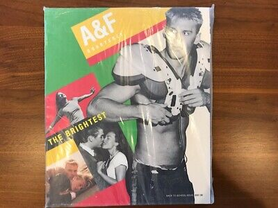 ABERCROMBIE & FITCH Back to School Issue 2001 Catalog A&F Quarterly NEW & SEALED