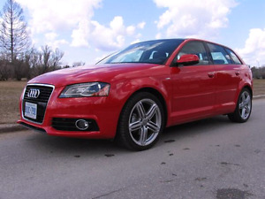2011 Audi A3 Quattro with DGS transmission