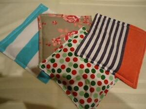HEATABLE/FREEZABLE 100% COTTON RICE THERAPY PACKS