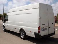 Van with man long routes bargain cheapest prices
