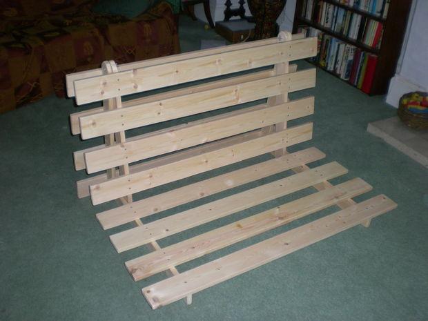 Ikea Futon Base Frame No Broken Slats In Excellent Condition