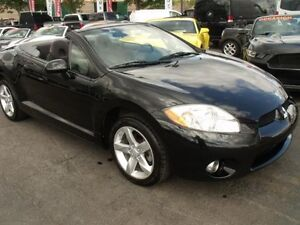 2008 Mitsubishi ECLIPSE SPYDER/CONVERTIBLE/MANUEL/4 CYL