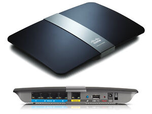 Linksys EA4500 App-Enabled N900 Dual Band N Router 4 Port 450 Mbps 2.4 GHz/5 GHz