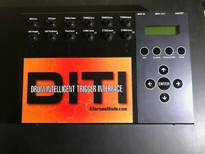 ALTERNATE MODE  DITI  Electronic Drums Trigger Interface