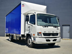 Fuso Fighter 1124 LWB Curtainsider Rocklea Brisbane South West Preview