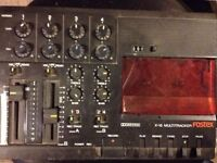 Fostex X-15 series II MULTITRACKER Cassette Recorder 4 Track - TESTED Excellent