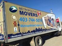 Metropolitan Movers $85 Per Hour Only - Best Moving Deal in Town