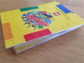 Set Of 35 Lego create the world Lego cards - collectable