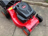 """Champion 18"""" self propelled rotary petrol mower excellent used condition"""