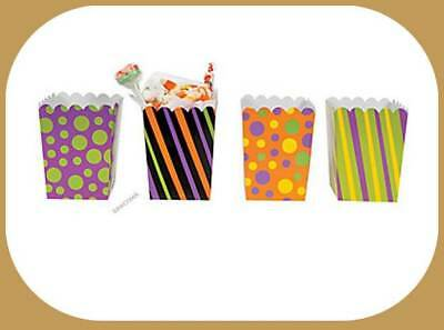 (12)  Mini  TREAT Boxes~~Treats~~Favors~~Decorations~~Baby/bridal shower (Halloween Baby Shower Decorations)