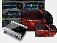 Traktor Audio 6 with Timecode Vinyl + CDs