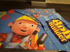 Bob the Builder twin duvet cover and pillow case