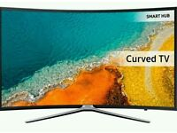 """Samsung 40"""" LED Curved SMART WI-Fi TV BUILT IN HD FREEVIEW new K series FULL HD 1080P"""