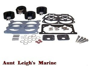Carburetor Kit w/ Float Yamaha Outboard 115 130 HP L130 18-7744 6N6-W0093-02-00