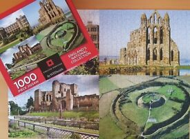 1000 PIECE WHSMITH'S PUZZLE – ENGLAND'S NATIONAL COLLECTION - EXCELLENT CONDITION