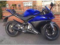 2009 Yamaha 125 yzf