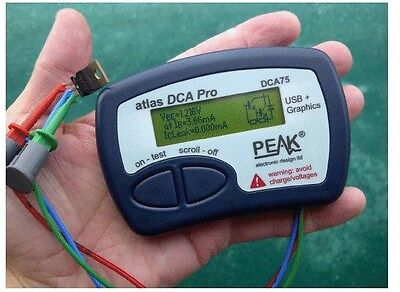 Peak Atlas DCA75 PRO Semiconductor Tester
