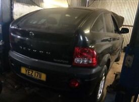 Ssangyong actyon 2.0 xdi auto gearbox / BREAKING ALL PARTS AVAILABLE