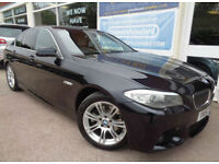 BMW 520 2.0TD auto 2012 d M Sport F/S/H Sat Nav P/X (Reduced 10495.00)