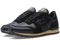 Valentino Black and Tan Trainers, Brand New in Box Size 10