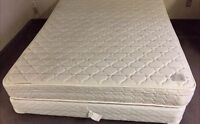 Global queen bed - mattress box and frame