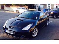 Black Toyota Celica £1150