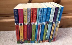 Large Collection of Roald Dahl Books
