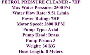 Petrol pressure washer 7hp Broadbeach Waters Gold Coast City Preview