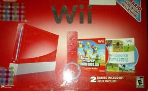 Red Wii Console $100 obo