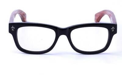 Mens Womens Eyeglass Frames Handmade Wooden Eyewear Optical Glasses Vintage Rx