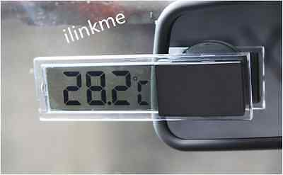 Mini Indoor Car Lcd Digital Display Room Temperature Meter Thermometer Il
