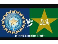 India v Pakistan icc champions trophy 2017