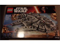 Lego Star Wars Millenium Falcon New Sealed Mint Condition