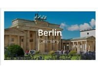 London to Berlin return flight ticket just £29