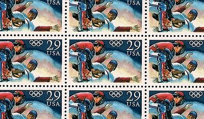 1992 - OLYMPIC BASEBALL - #2619 Full Mint -MNH- Sheet of 50 Postage Stamps