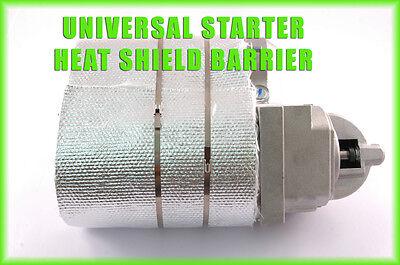 Ford 351 327 Starter Aluminized Blanket Header Heat Shield High Temperature
